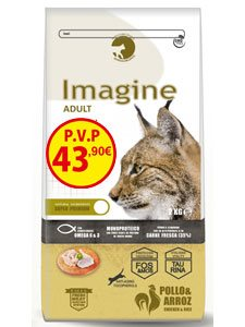 IMAGINE CAT ADULT 8 Kg.