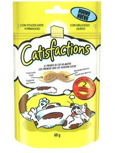 CATISFACTIONS QUESO 6 x 60 gr.