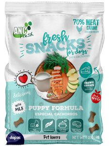 DISPLAY SNACKS ANC FRESH PUPPY
