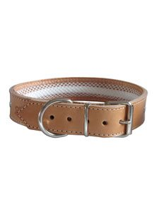 TUYNEC COLLAR CUERO NATURAL 57 cm