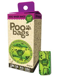 BOLSITAS POO BIODEGRADABLES 8x15