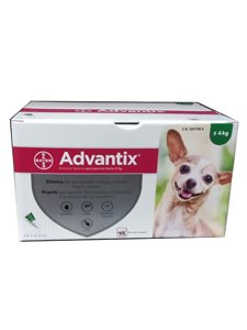 ADVANTIX CLINICO 0,4 ml.  - De 0 a 4 Kg.
