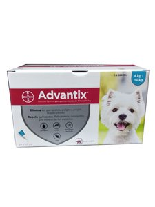 ADVANTIX CLINICO 1 ml.  - De 4 a 10 Kg.