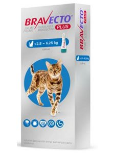 BRAVECTO PLUS GATO 250 mg.