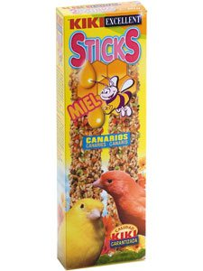 KIKI STICKS CANARIOS MIEL
