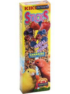 KIKI STICKS CANARIOS FRUTAS DEL BOSQUE