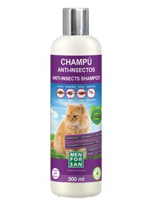 CHAMPU ANTI-INSECTOS GATO 300 ml.