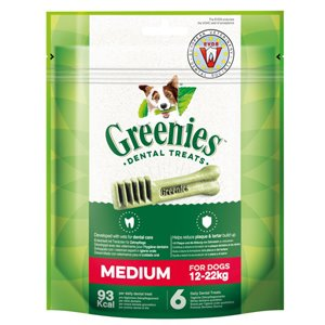 GREENIES MEDIUM 6 x 170 gr.