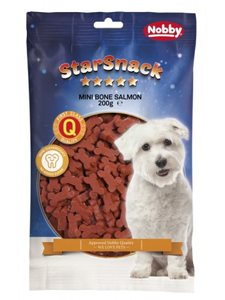 SNACK DOG HUESITOS SALMON 200 gr.