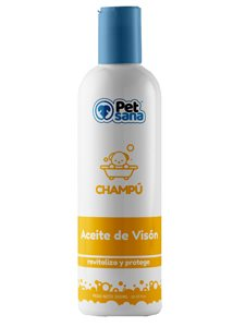 PET SANA CHAMPU ACEITE VISON 300 ml.