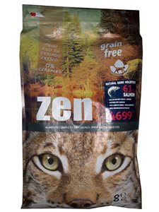 ZEN CAT SALMON & POTATO 8 Kg.